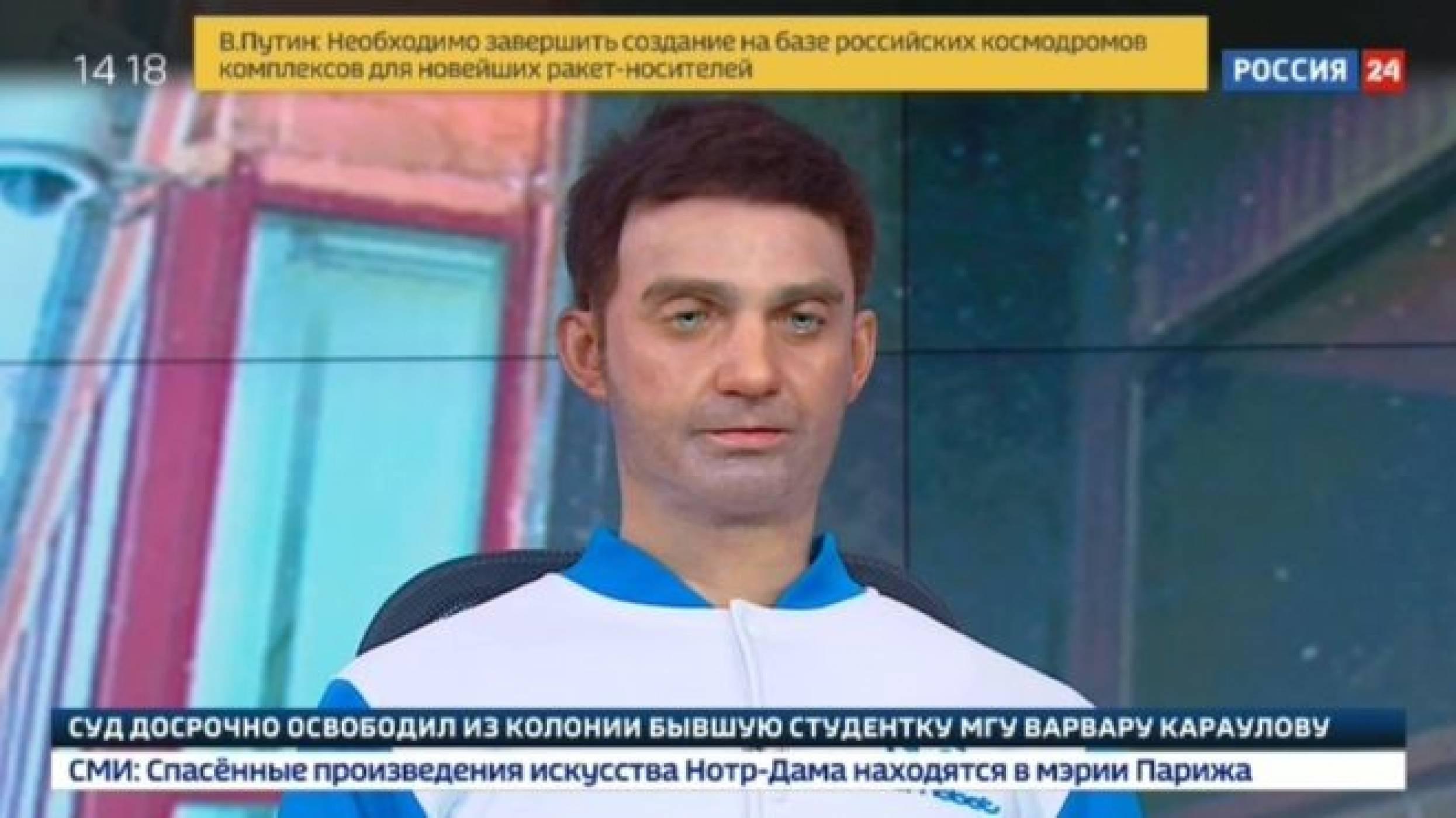 Робот говорител изкара акъла на руските ТВ зрители (ВИДЕО)