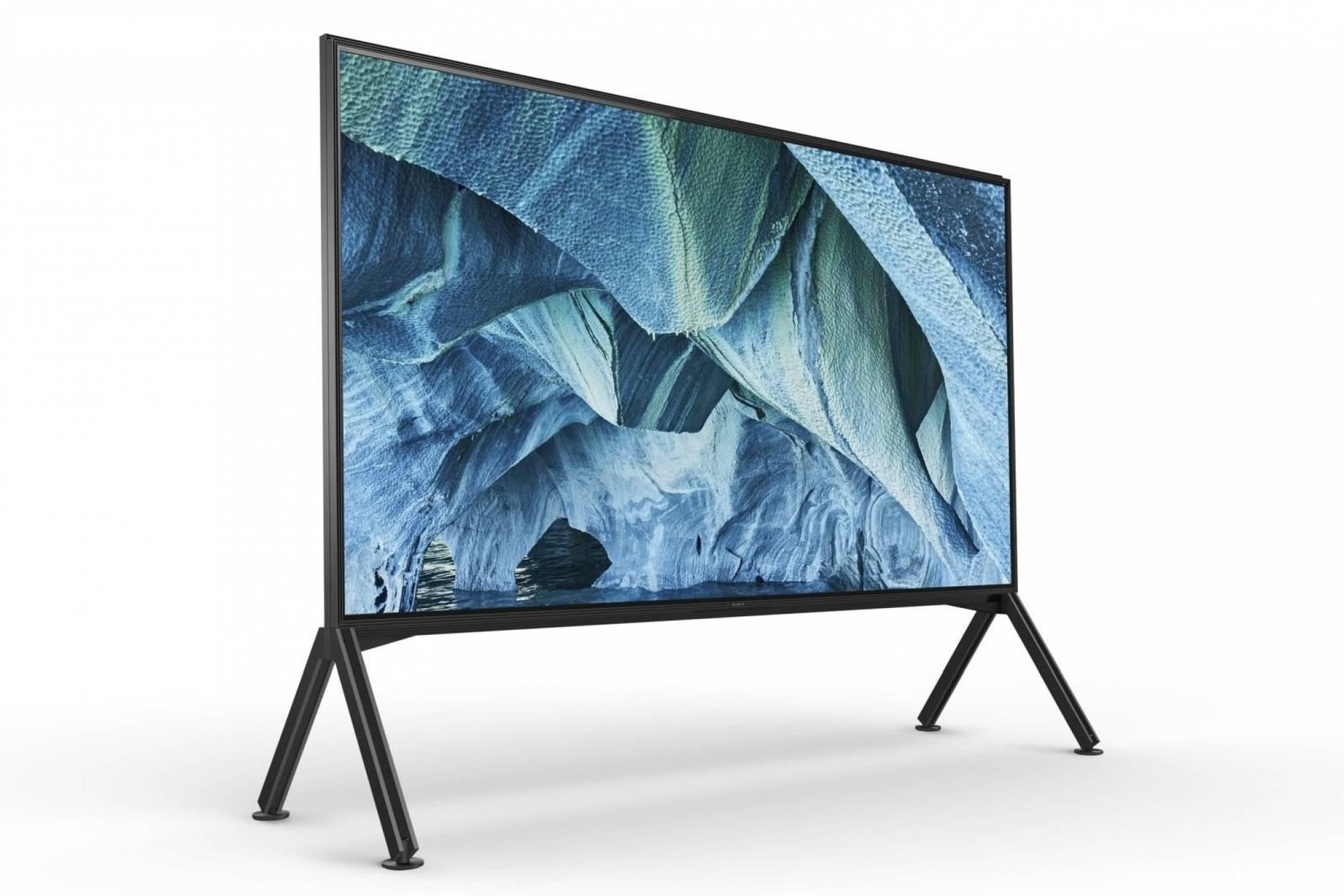 98-инчовият 8K телевизор на Sony ще струва $70 000