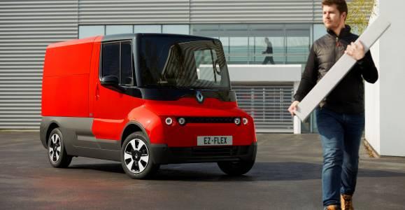 Renault EZ-FLEX – автомобил, проектиран за градски доставки
