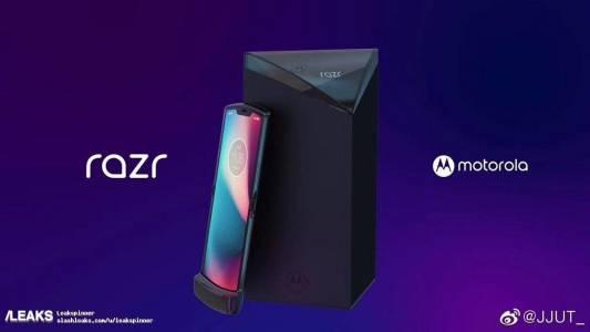 За първи път: гъвкавият RAZR на Motorola изтече в мрежата