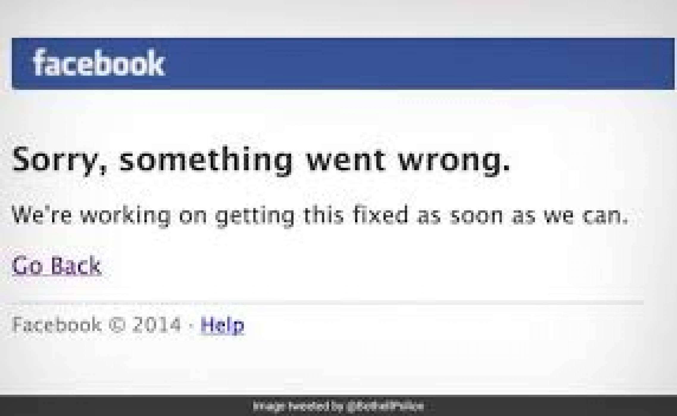 Facebook и Instagram отново извън строя