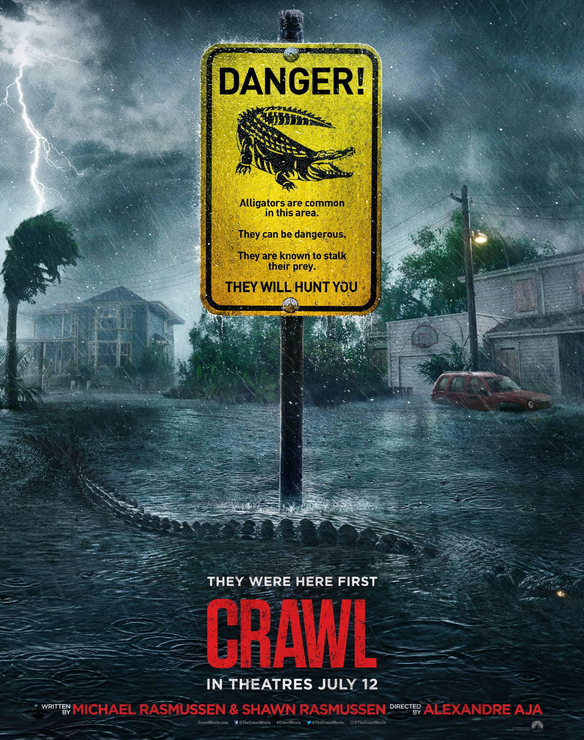 Сам Рейми гони крокодили в новия си филм Crawl