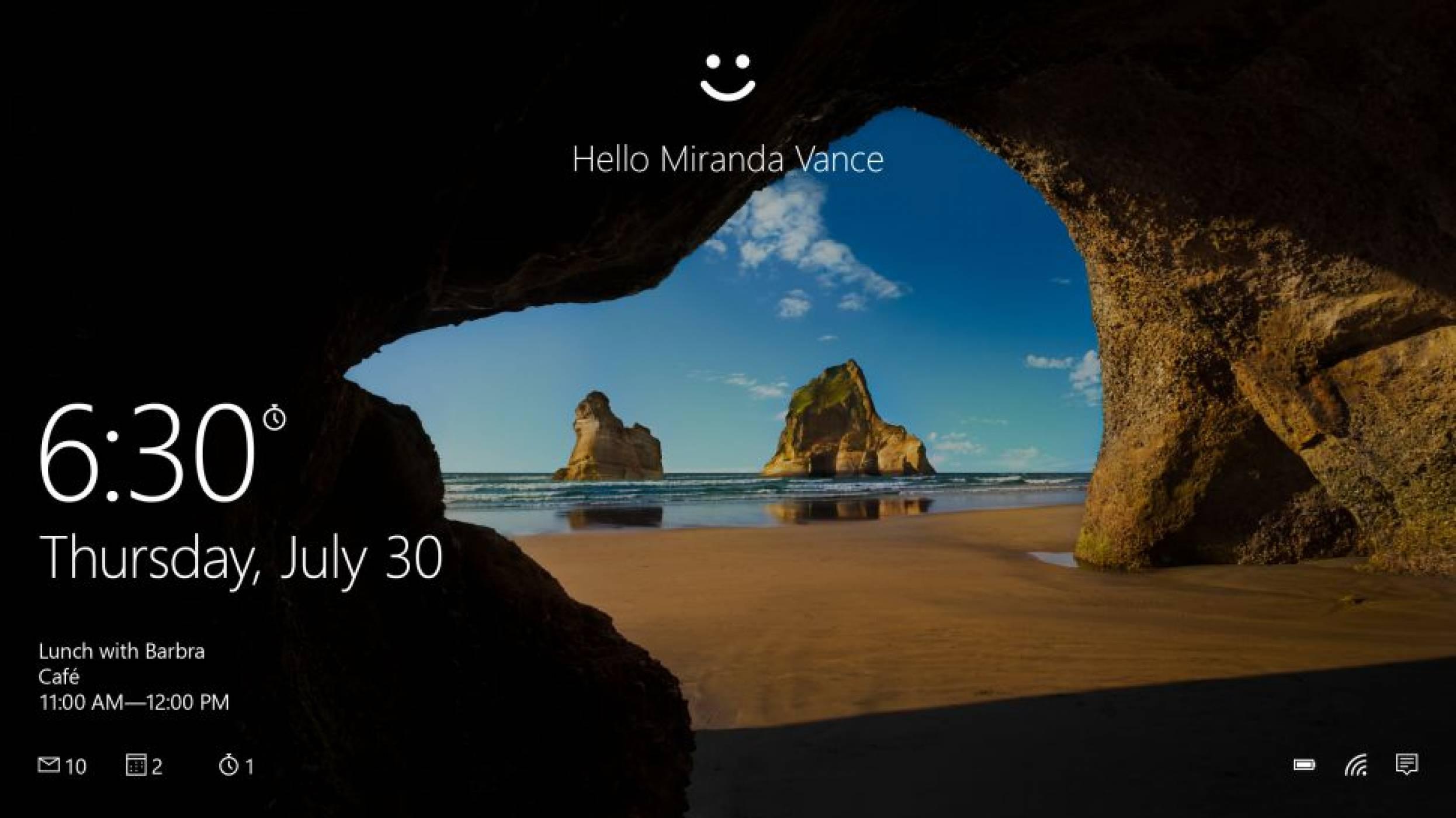 Windows 10 е стъпка по-близо до живот без пароли