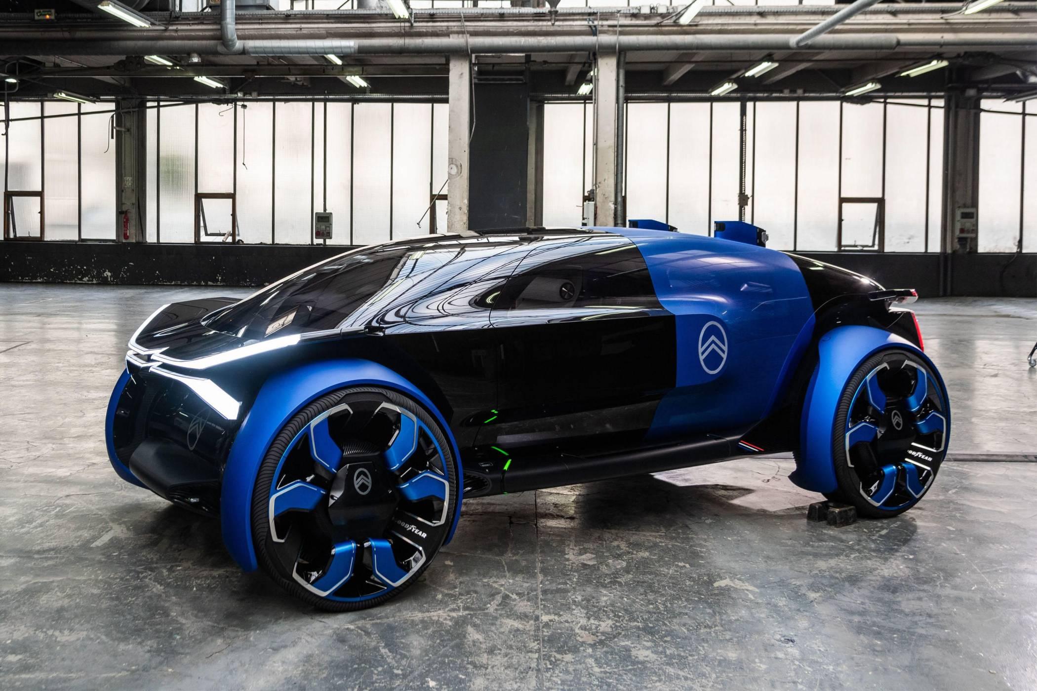 Citroën 19_19 Concept е кръстоска между офис и всекидневна на колела