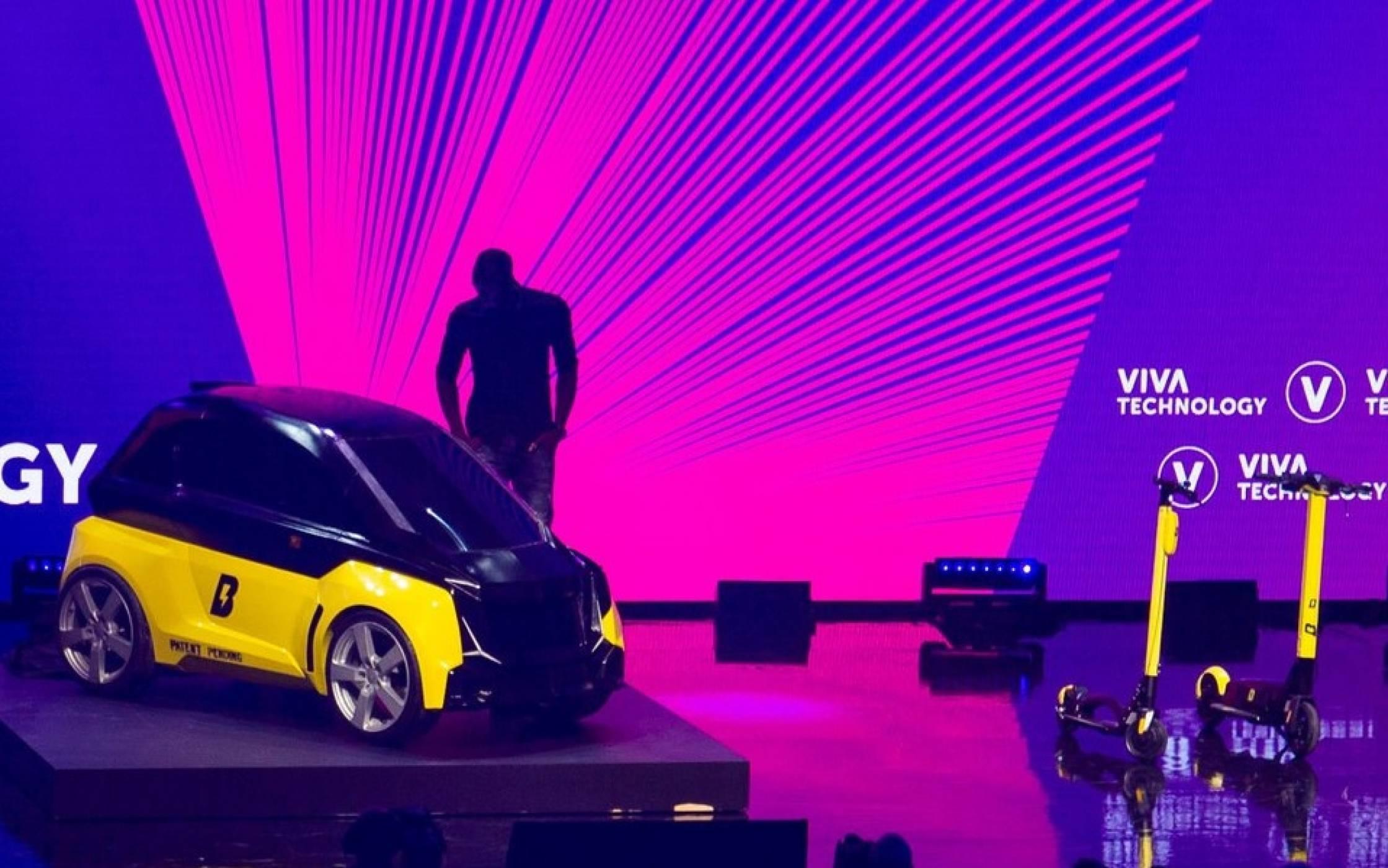 Най-бързият човек в света представи своя микро електрическа кола
