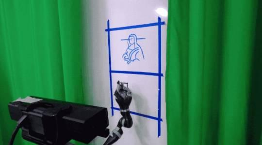Този робот може да пише ръкописно на езици, които никога не е виждал