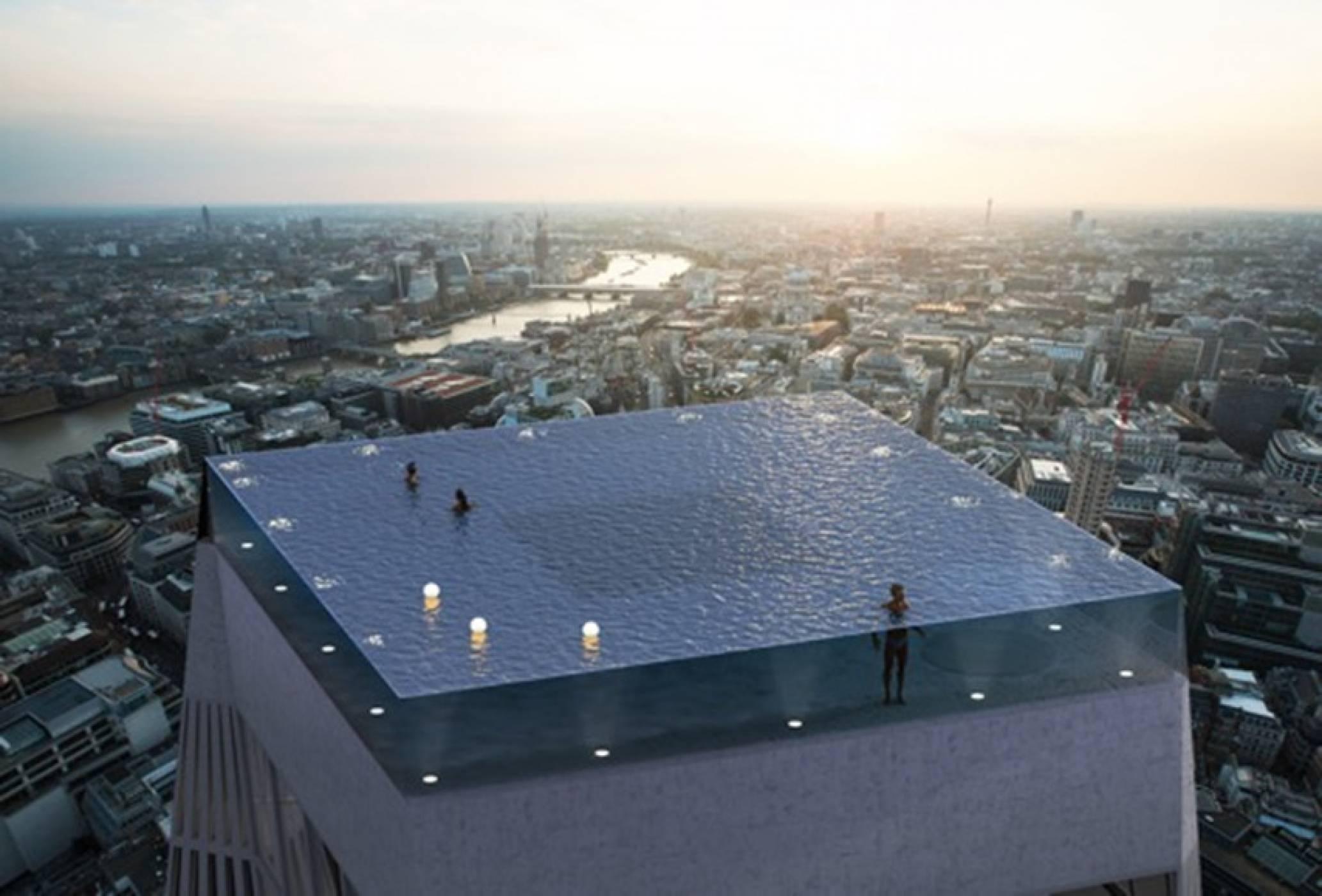 Нов вид луксозен басейн ще дебютира в Лондон