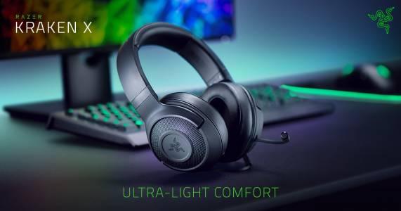 Razer пуска най-лекият Kraken headset досега и ъпгрейдва предишни модели