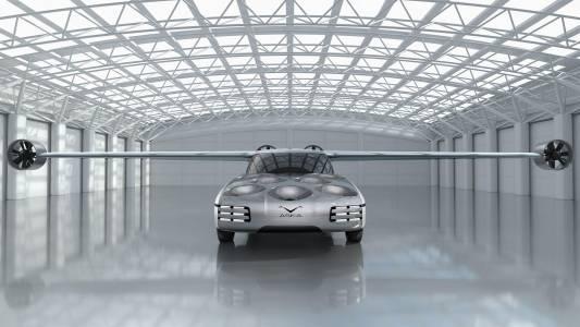 Aska е колата, с която можеш да летиш на работа след няколко години