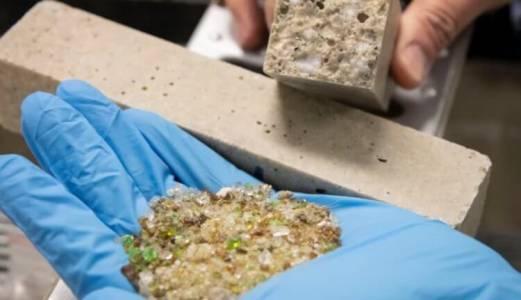 Бетон от стъкло ще намали себестойността на сградите