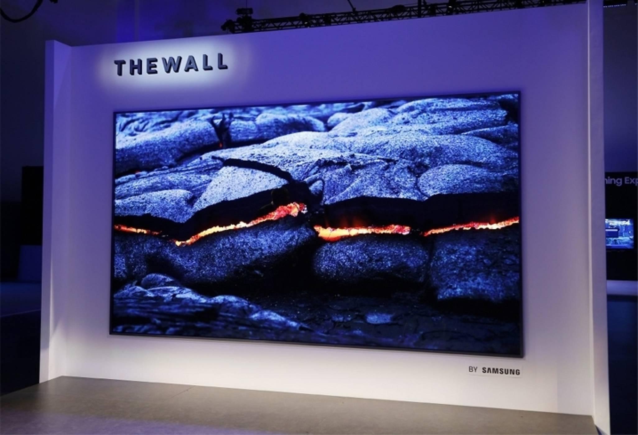 Гигантският Micro LED телевизор на Samsung е на пазара от юли