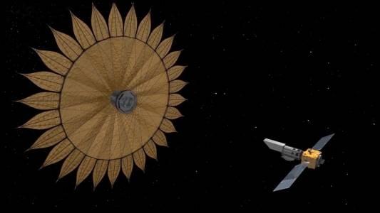 NASA планира да затъмни светлината от звездите с огромен щит