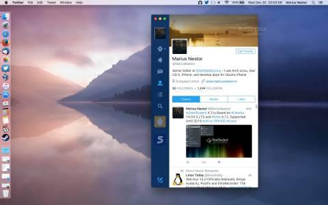 Twitter връща своето приложение за десктоп MAC PC
