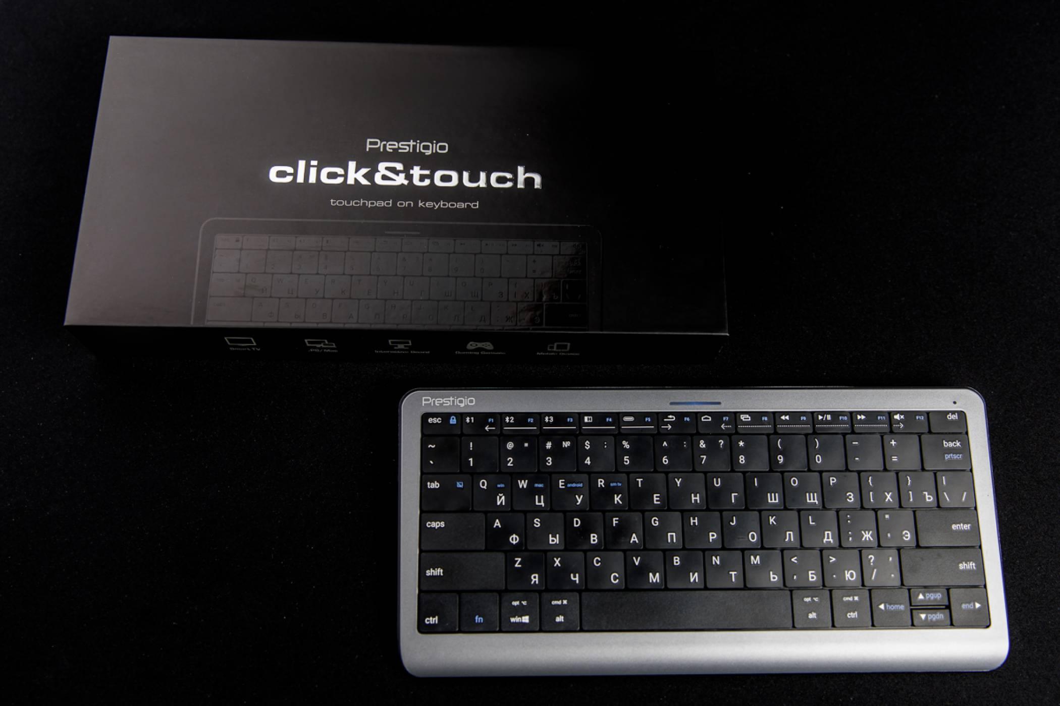 Първата в света Click&Touch клавиатура идва през август