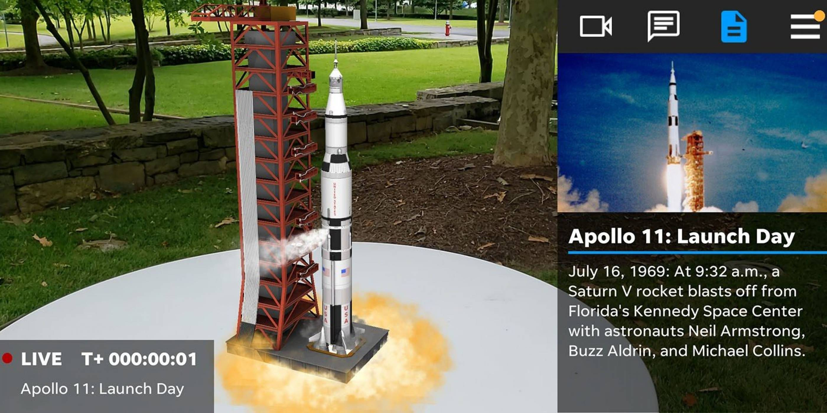 Кацнете на Луната с това уникално AR приложение