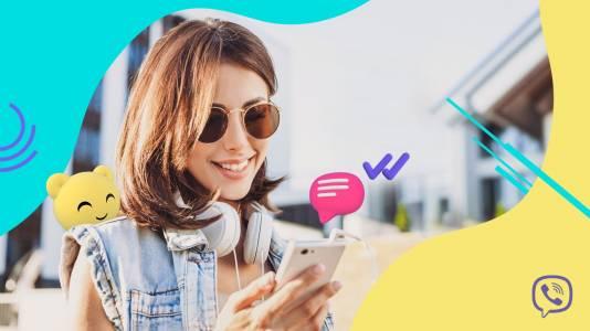 Viber с нови функции точно навреме за лятото