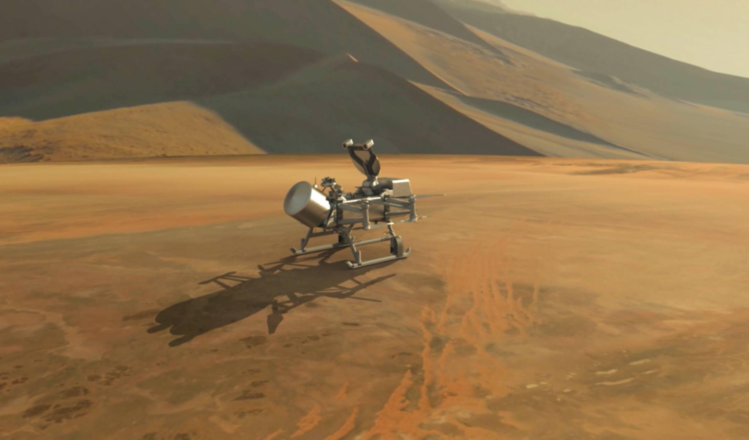 NASA обяви мисия до най-голямата луна на Сатурн