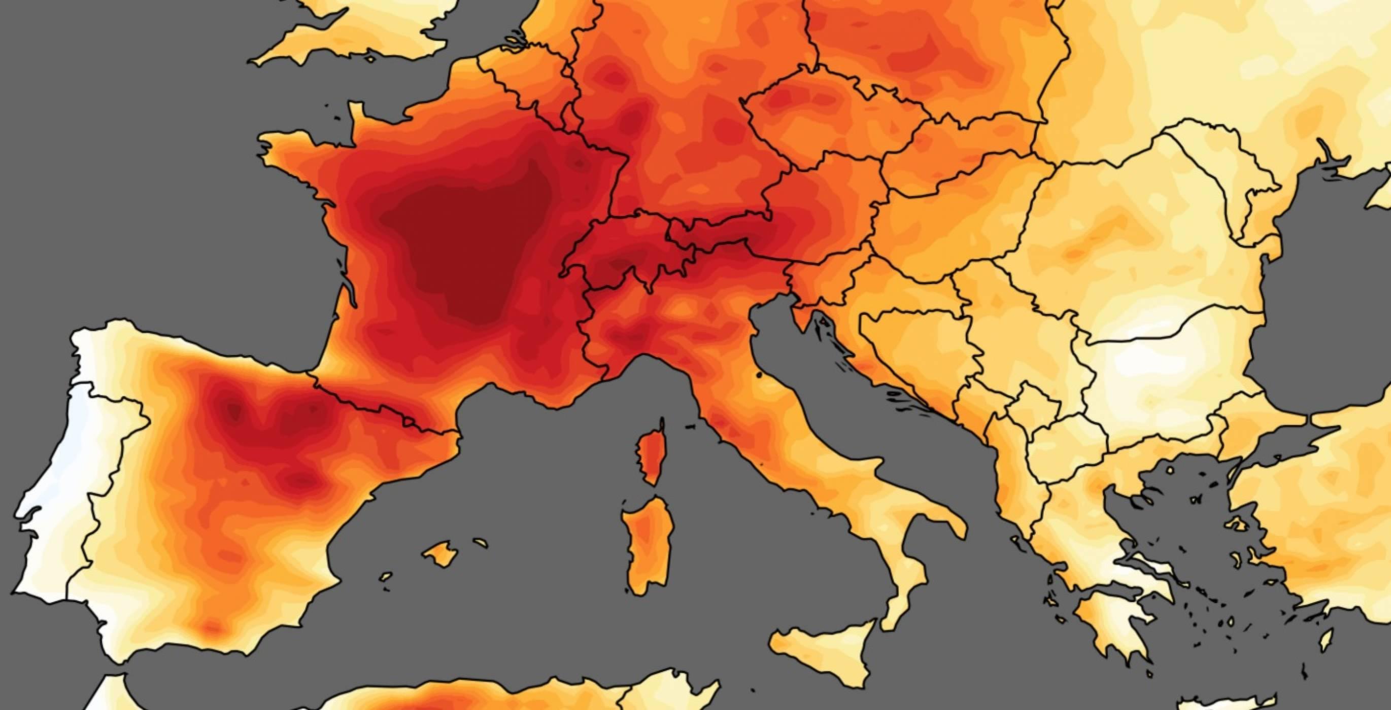 Причината за температурните рекорди през юни
