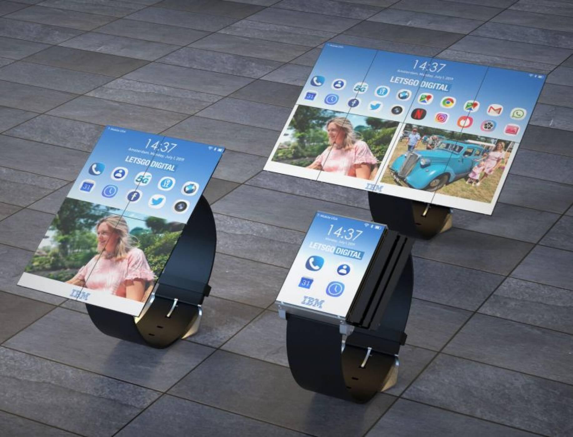 IBM ни показва бъдещето на смарт часовниците (СНИМКИ)