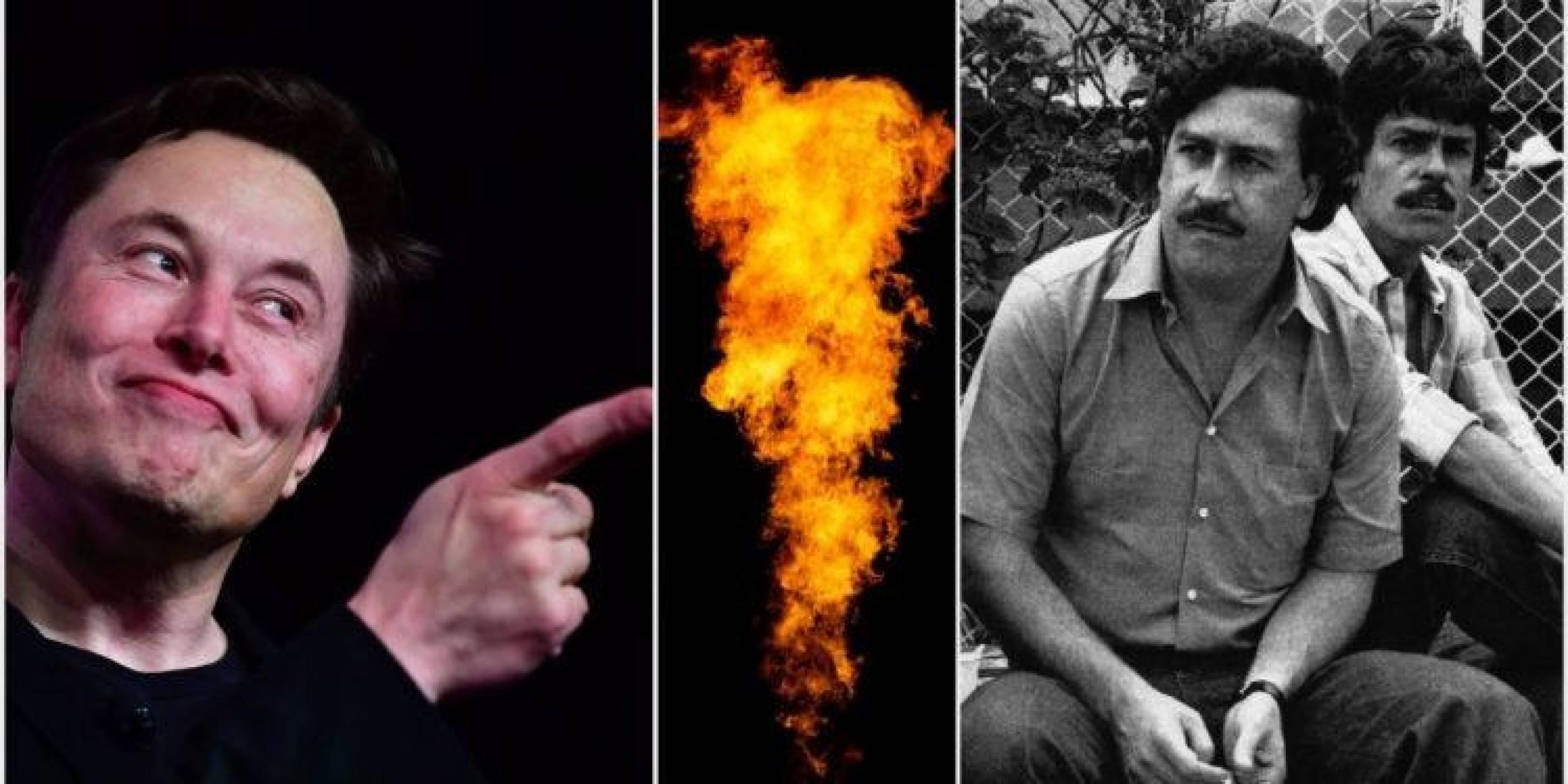 Лют (и опасен) скандал - огнехвъргачката на Мъск му навлече гнева на Ескобар