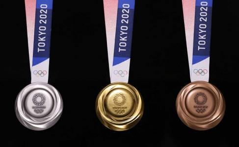 Злато от боклука: това са новите олимпийски медали