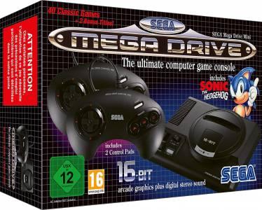 Sega Mega Drive Mini забавена за октомври в Европа