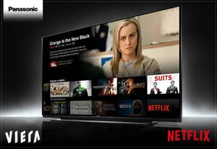 NETFLIX препоръчва OLED телевизорите на Panasonic
