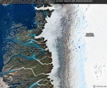 Какво се случва със Земята – 12.5 милиарда тона айсберг се разтопи за ден