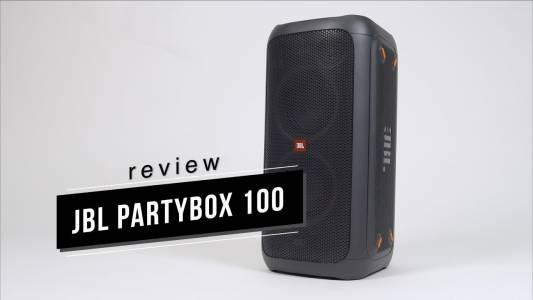JBL Partybox 100: парти където и да е (ВИДЕО РЕВЮ)