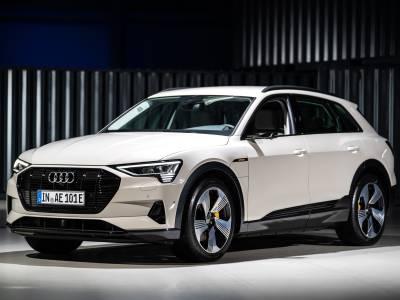 Audi's E-Tron е първата е-кола с високо отличие за безопасност (ВИДЕО)
