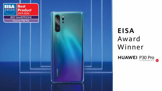 Huawei P30 Pro е Смартфон на годината според EISA