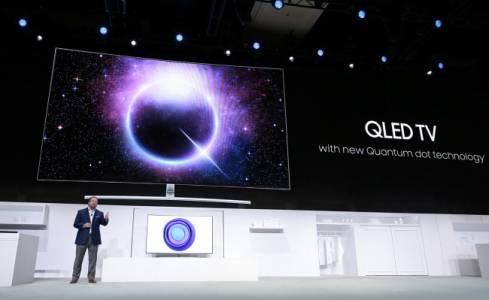 Samsung крои планове за производство на квантови QD-OLED  панели