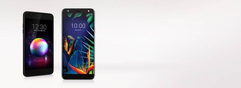 LG K40s и LGK50s са среден клас смартфони с военен клас издръжливост