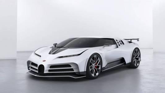 Bugatti Centodieci: 9 млн. долара, 1600 коня и само 10 броя (ВИДЕО)