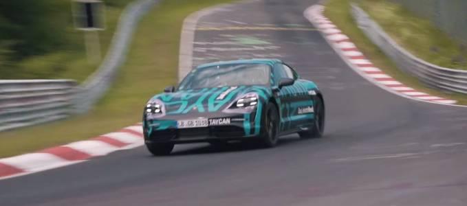 Porsche Taycan пренаписа историята на Нюрбургринг (ВИДЕО)