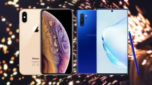 Drop Test! Galaxy Note 10+ vs iPhone XS Max – кой е по-издръжлив? (ВИДЕО)