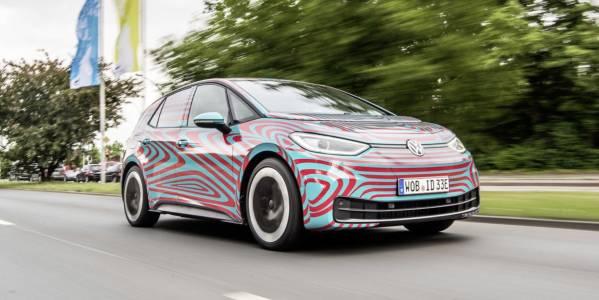 Електрическият VW ID3 - на върха с легендите Golf и Beetle