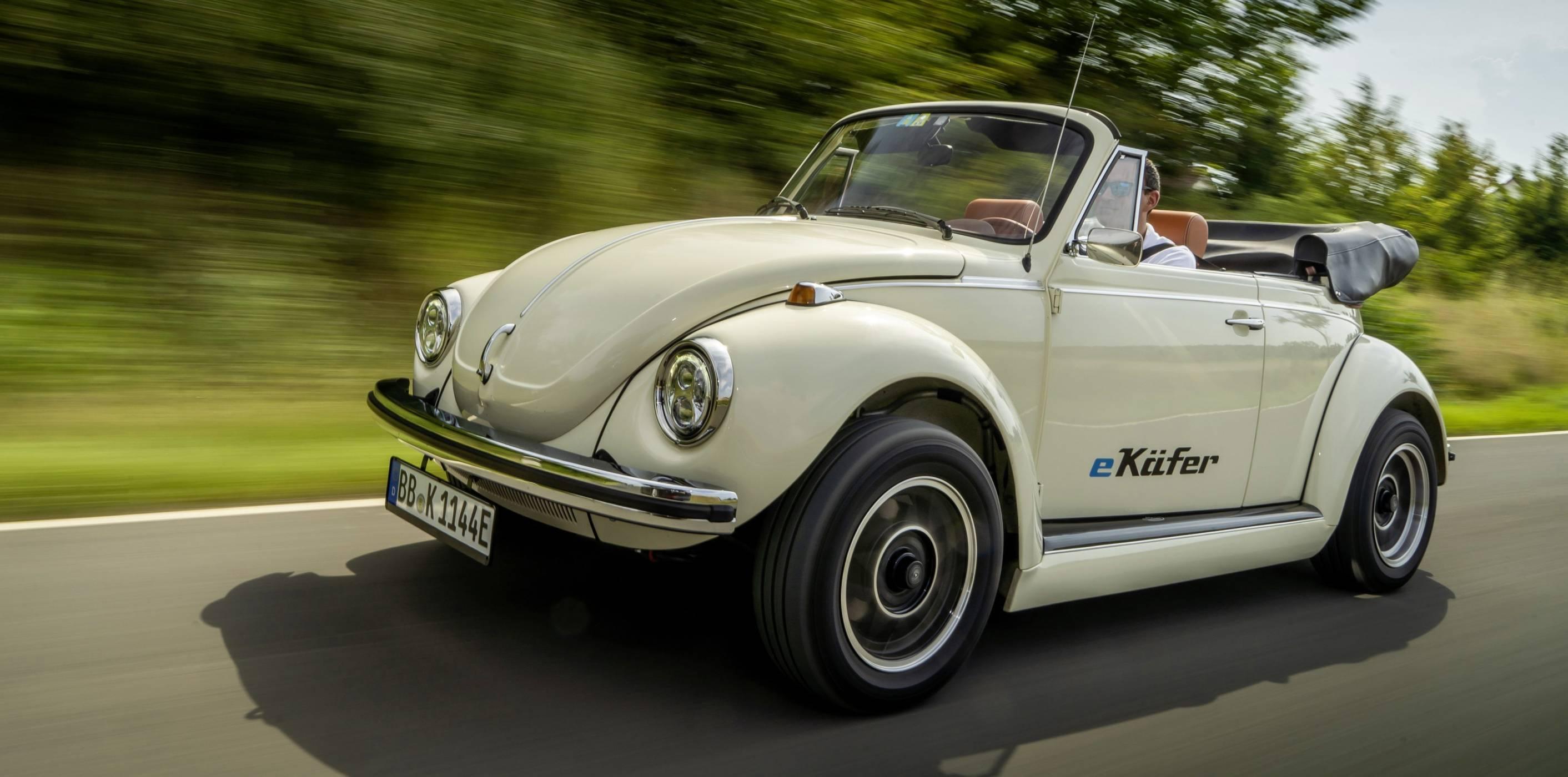 VW Beetle получава нов живот и е-двигател
