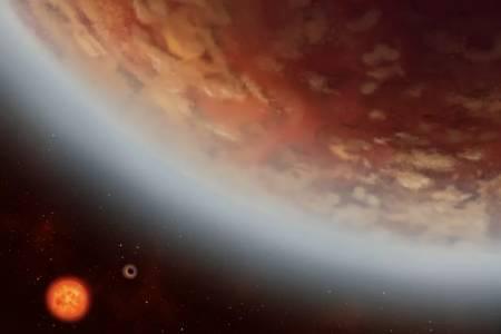 Водни изпарения и дори дъжд може да раждат живот на новооткрита планета