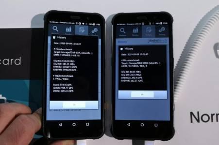 microSD картите дишат прахта на UFS прототипа Hisense T91