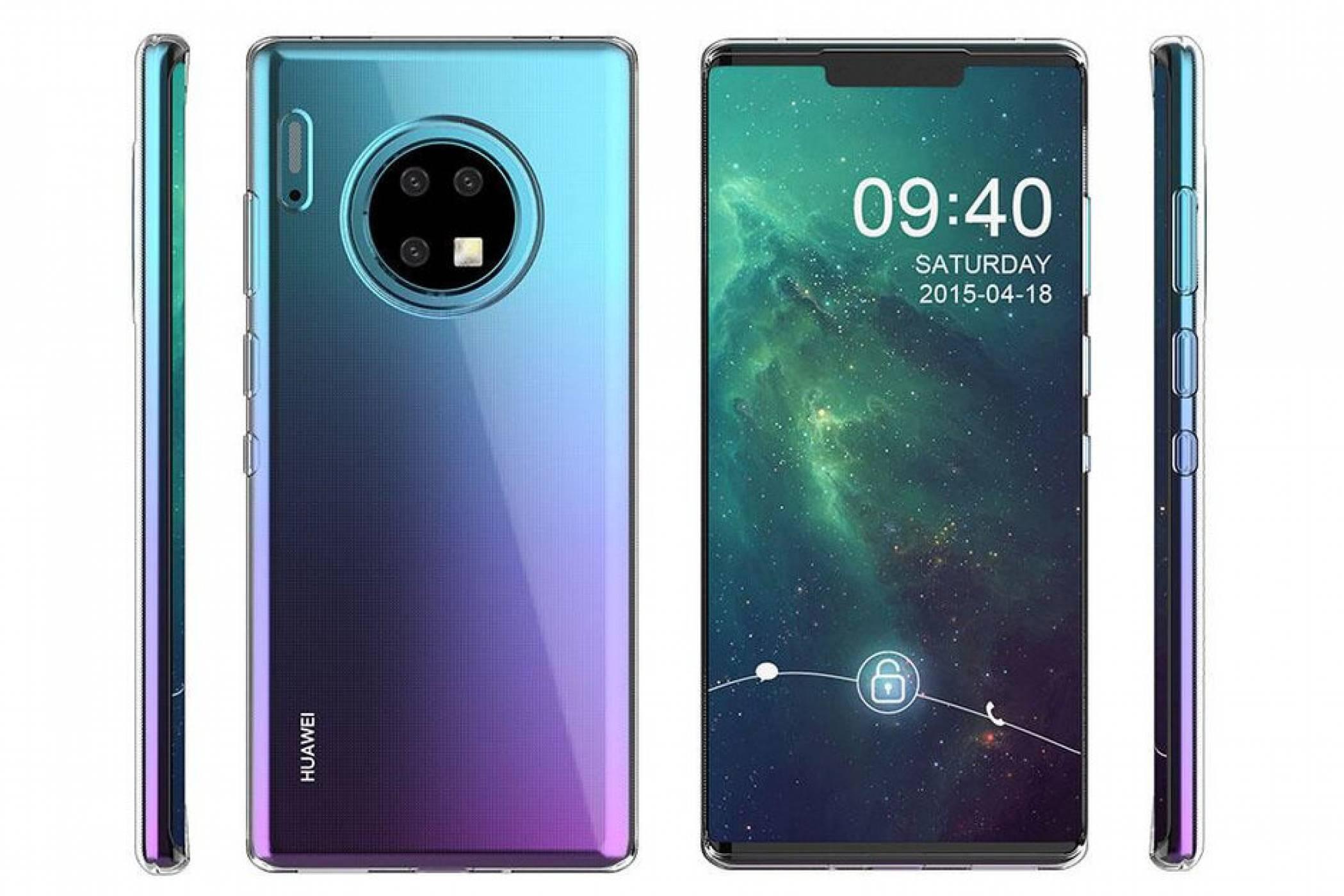 Изтекоха опаковката и характеристиките на Huawei Mate 30