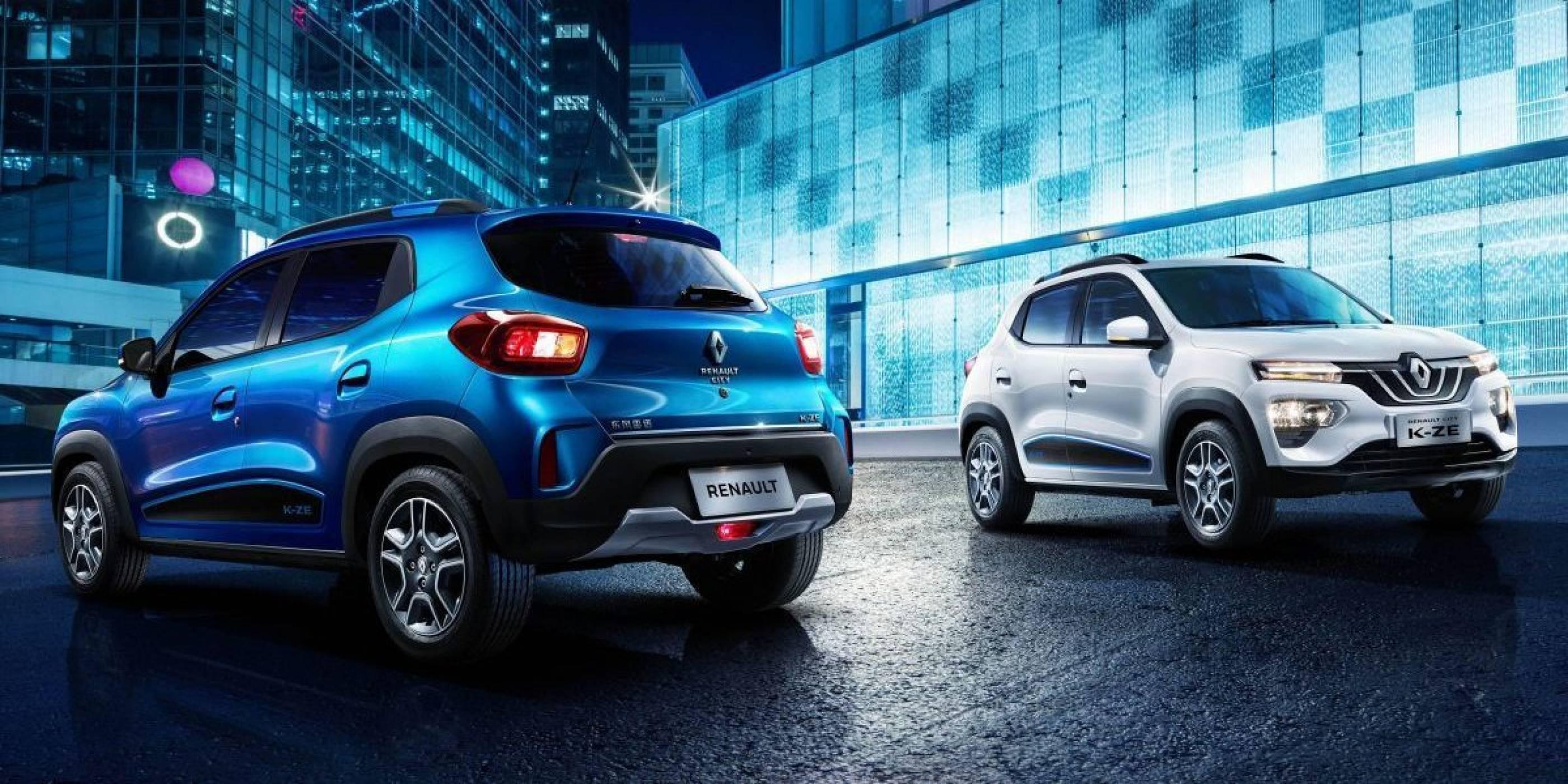 Renault K-ZE е уникално евтин е-кросоувър, стига да сте в... Китай