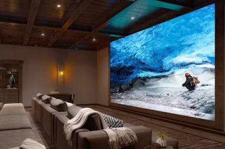 Домашният кино дисплей Sony Crystal поддържа 16К, но може да ви струва милион