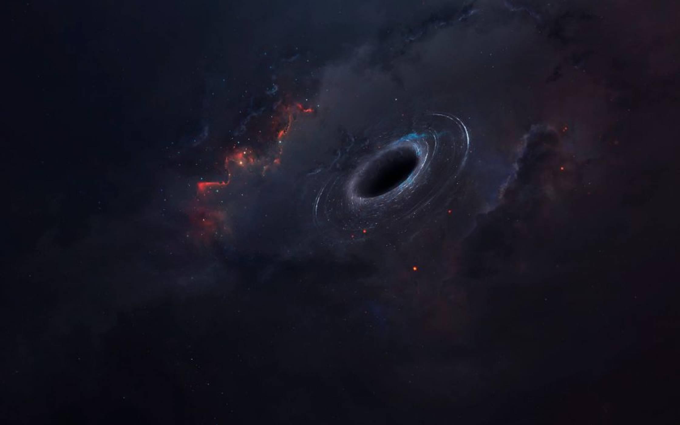 Черната дупка в центъра на Млечния път започва да огладнява (ВИДЕО)