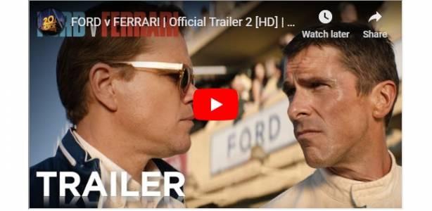 Новият трейлър на Ford v Ferrari лъха на качествени предавки и адреналин (ВИДЕО)
