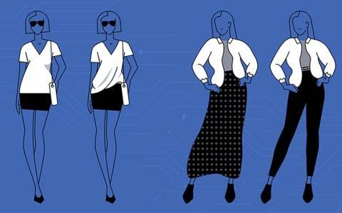 AI на Facebook ще ви казва как да се обличате като кинозвезда