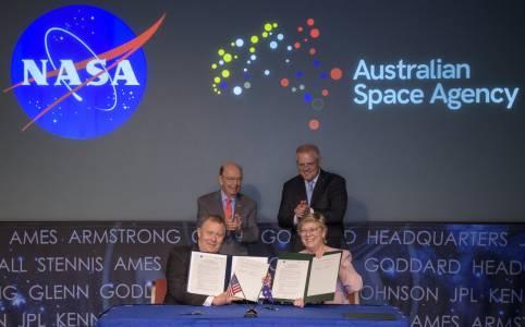 Австралийско рамо за NASA по пътя към Луната и Марс