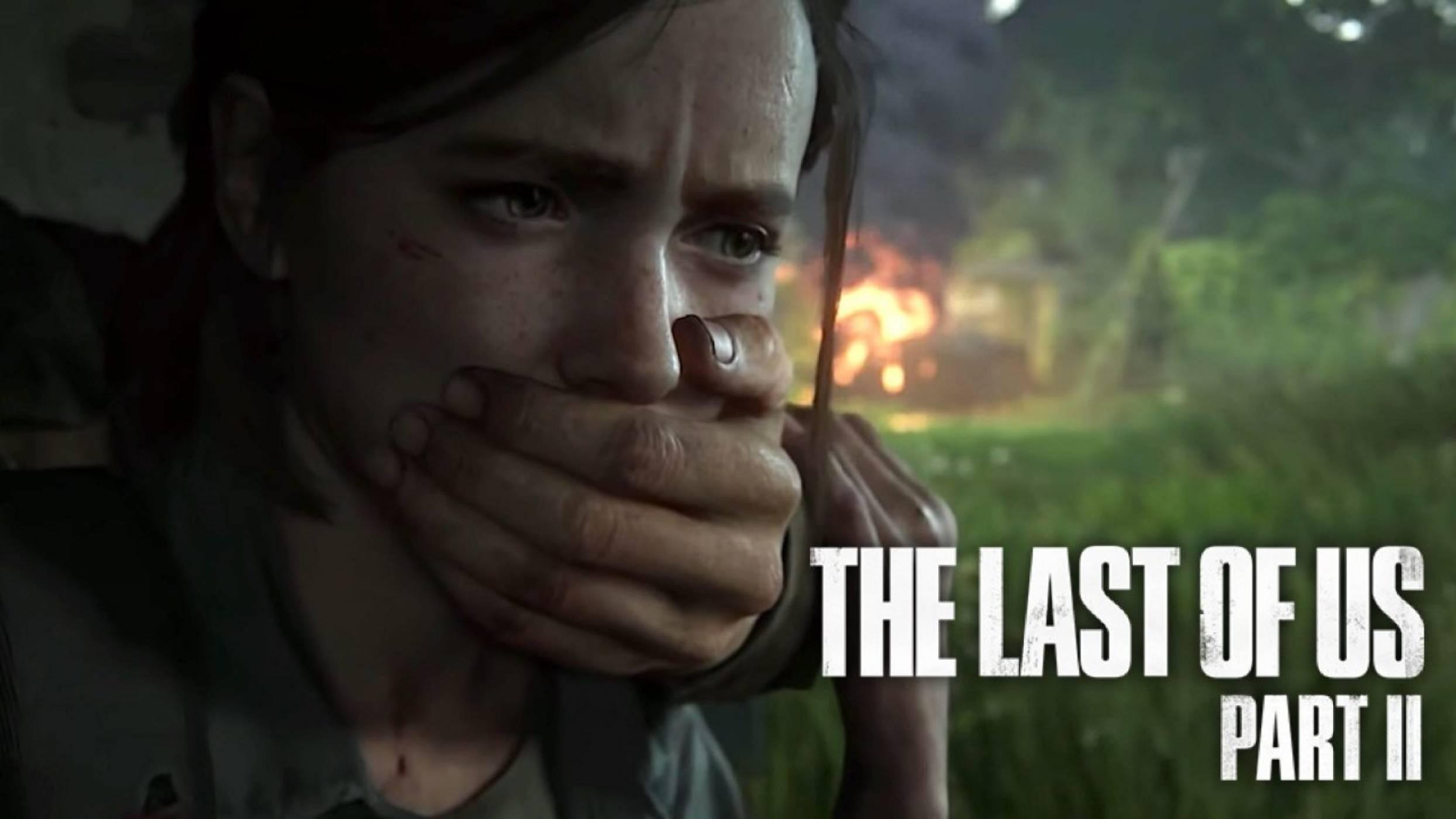 Геймплей на The Last of Us 2 (ВИДЕО)
