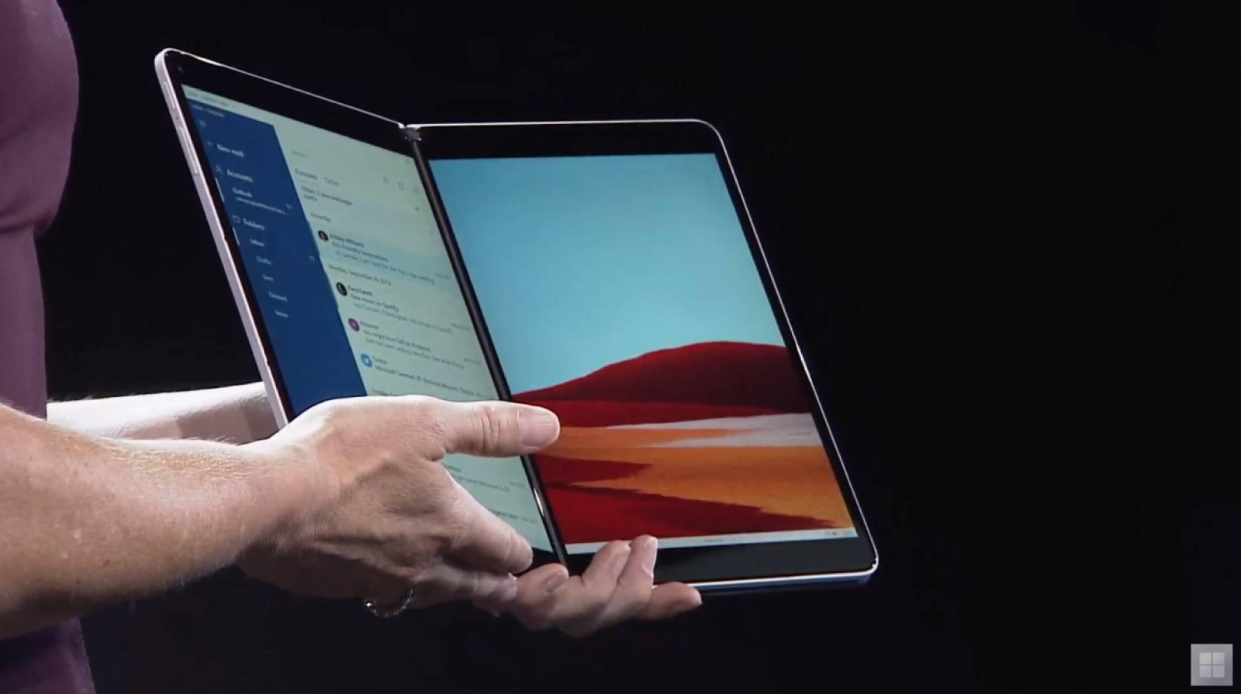 Surface Neo е визията на Microsoft за два екрана (ВИДЕО)