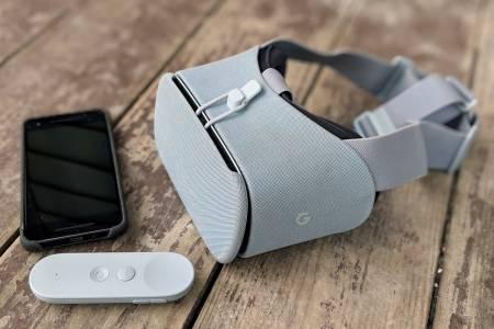 Google Daydream VR гушна букета